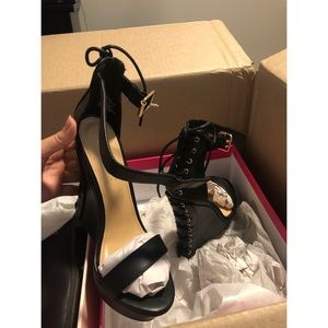 Madeleine Lace Up Wedge BRAND NEW